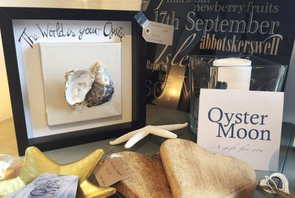 Oyster Moon at Draper's Yard Market and Studios in Chichester